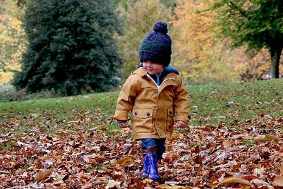 viajes con niños en otoño