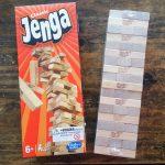 Jugando en familia al Jenga