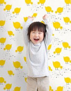 papel pintado para la habitación de los niños