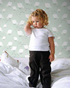 papel de pared infantil