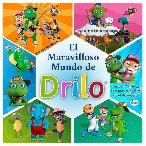 El Maravilloso Mundo de Drilo, el musical para bebés